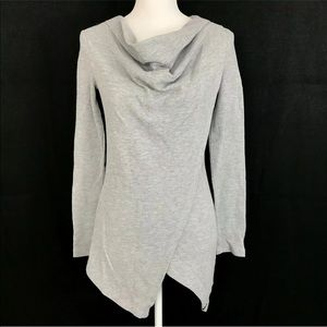 MNY Andrew Marc Performance Cowl Neck Wrap Sweater